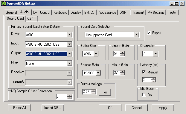 emu 0202 linux driver
